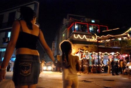 Cuban mother in Havana's Chinatown. Photo: Caridad