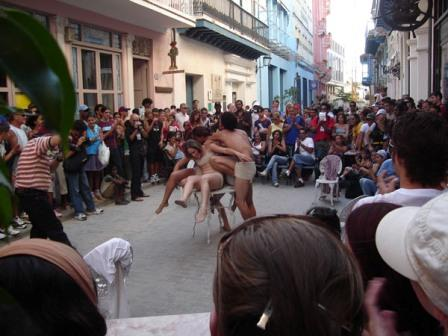 Street Theater in Old Havana.  Photo: Caridad