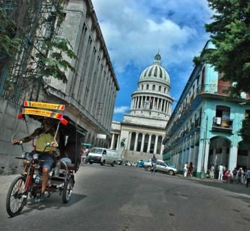 The Capitolio building in Old Havana, photo by Caridad