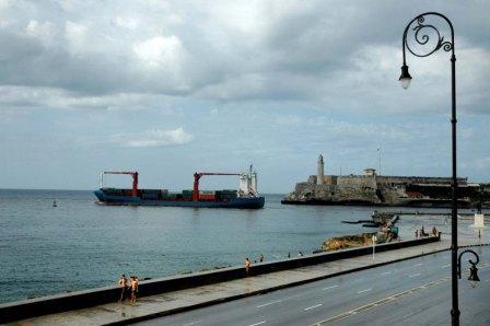 Havana Bay.  Photo: Caridad