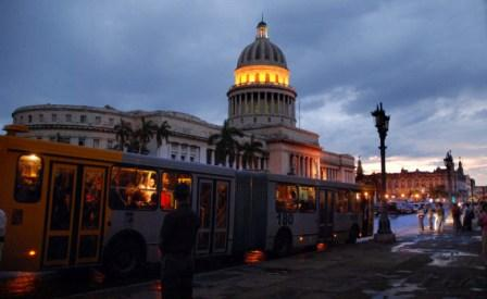 Havana's Capitolio Building at sunset. Photo: Caridad