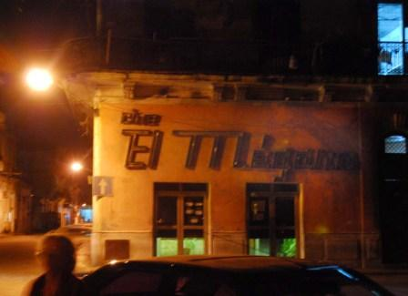 Havanas El Megano theater.  Photo: Caridad
