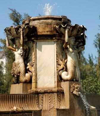A long time ago each one of the city's fountains took on a life of its own, so they speak even when they're not even there.  Photo: Caridad