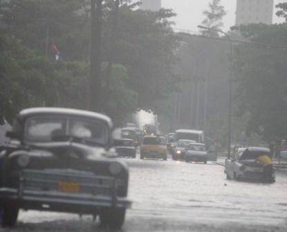 Havana, Cuba in the rainy season.  photo: Caridad