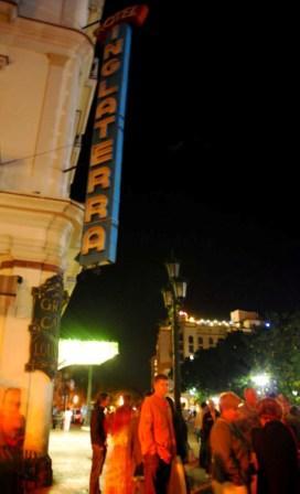 Hotel Inglaterra in Old Havana – Photo: Caridad