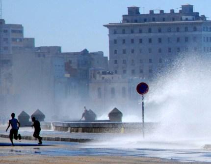 Winter day last year in Havana.  Photo: Caridad