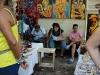 Lunch at the art fair. 0002