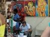 Lunch at the art fair. 0003