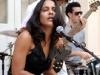 Haydee Milanes at the Dulce Maria Loynaz Center in Havana