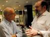 h6 Brian Gordon Sinclair, (r) with the Jean-Pierre Juneau, the Canadian ambassador to Cuba.