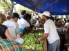 Open air market bustling with end of year sales