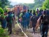 Avalanche of Honduran immigrants.