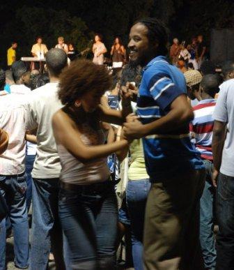 Dancing in Old Havana