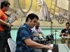Alejandro Falcon on piano.