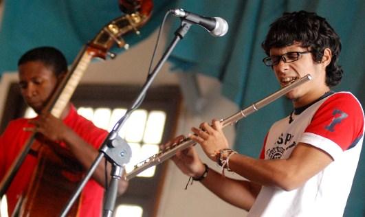 Flute Player Josue Borges