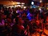 Audience at La Zorra y el Cuervo\'s Saturday afternoon jazz jam.