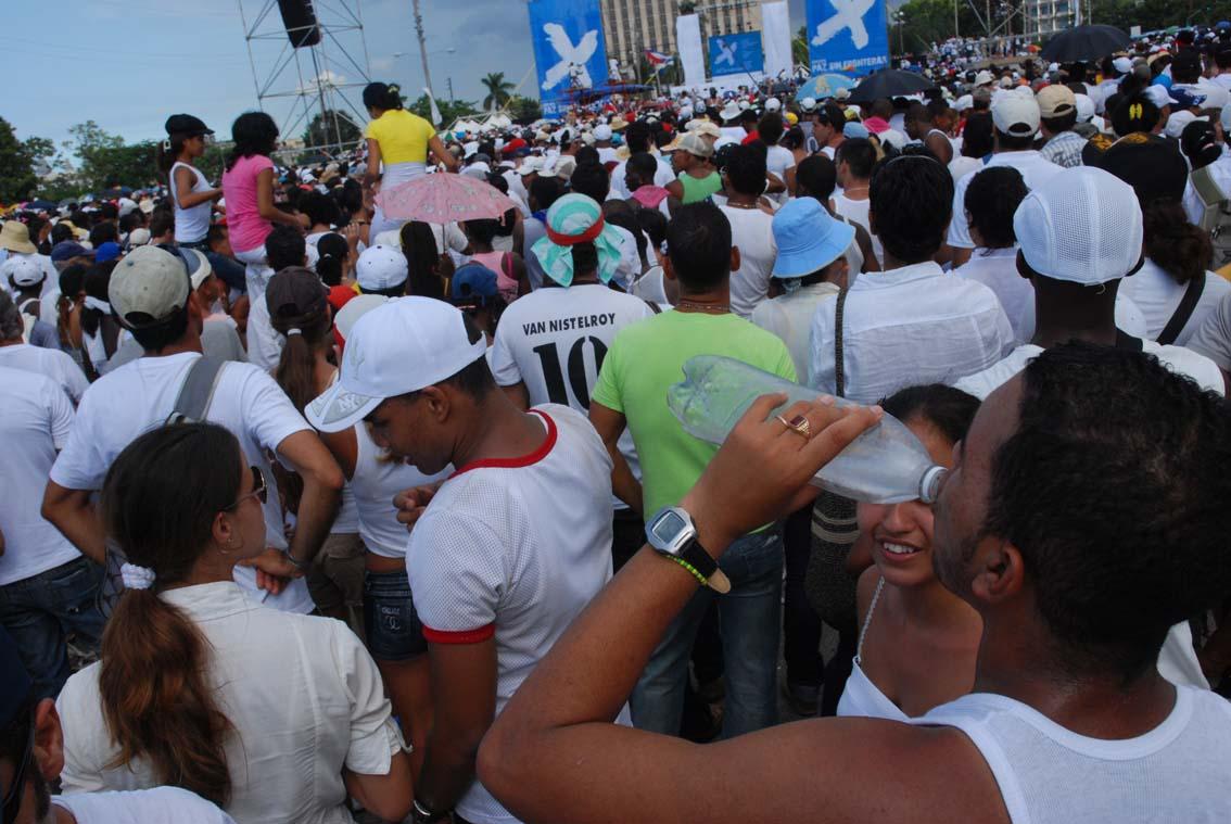 Juanes September concert in Havana.  Photo: Caridad