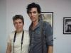 Michel con Lourdes Cairo su editora