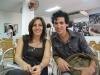 """Michel con Mariela Castro, durante la presentación de \""""Vivir sin Dios\"""" en la UNEAC (La foto es cortesía del entrevistado)."""