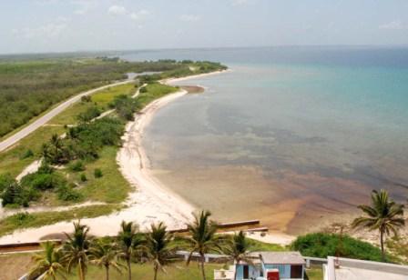 Pristine beach at Punta de Maya