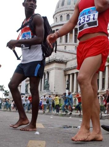 Havanas Marabana marathon.  Photo: Caridad