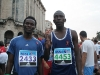005 A runner from Gambia (2433) and the Congo (4453)
