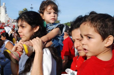 May Day 2009 Celebration in Havana. Photo: Caridad