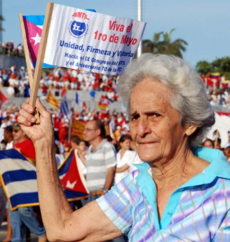 Unity, Firmness & Victory is once again a battle cry, this time to fight corruption.  Photo: Caridad