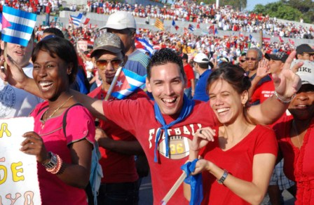 Cuban young people know nothing but hostility from Washington.  Photo: Caridad