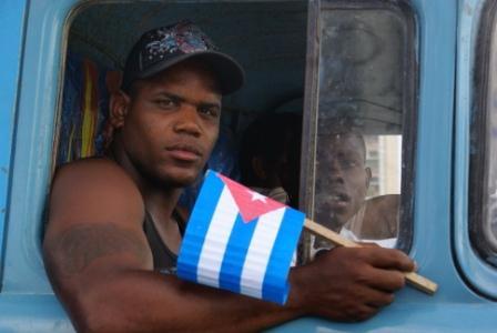 Cuban Worker.  Photo: Elio Delgado