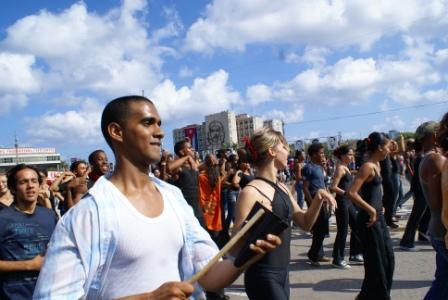 May Day 2009 Celebration in Havana. Photo: Elio Delgado
