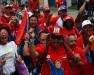 May Day parade in Caracas, Venezuela