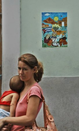 On the eve of Mother's Day in Cuba 2009