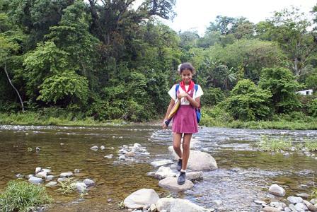 Children of Cuba's Sierra Maestra Mountains