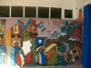 Mural at the ELAM Med School