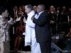 Omara Portuondo el cantante puertoriqueno Dany Rivera y Waldo Mendoza