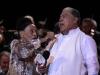 Omara Portuondo y el cantante puertoriqueno Dany Rivera