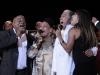 Waldo Mendoza, Omara-portuond and Dany Rivera and Sory-along with the orquesta.t