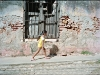 Child walking, Trinidad