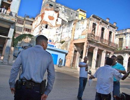 Many Centro Habana Buildings are Crumbling