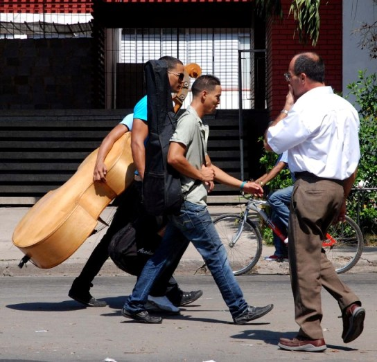 Havana Street Scene.  Photo: Caridad