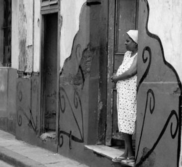 The blockade has hampered Cuba's development and caused much suffering. photo: Caridad