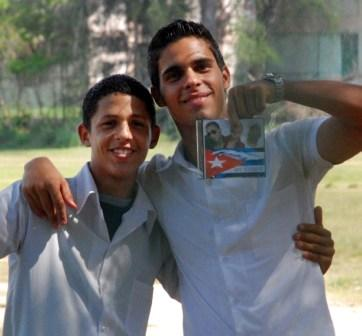 Military service is mandatory for Cuban boys and voluntary for girls. Photo: Caridad