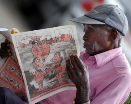 There are numerous publications in Cuba but none lists job vacancies.  Photo: Caridad