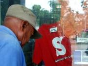 Santiago Baseball Fan