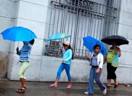 Rainy day in Havana.  Photo: Caridad