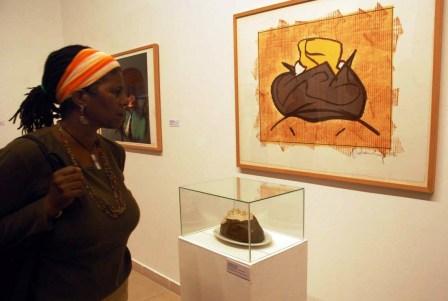 Traveling Pop Art Show at the Havana Fine Arts Museum.