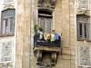 Balcony Woman