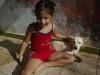 Red Daisy and White Dog.  Photo: Jenny Cressman