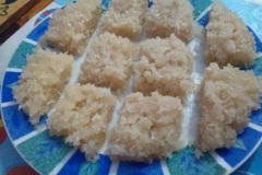 Coconut sweets from my tree